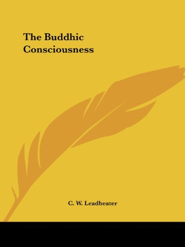 9781425330835: The Buddhic Consciousness