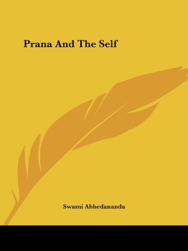 9781425333508: Prana And The Self