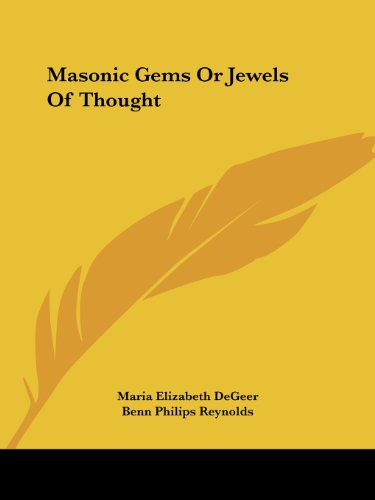 9781425336707: Masonic Gems Or Jewels Of Thought