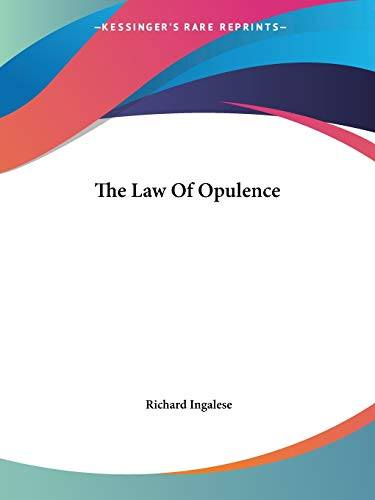 9781425338923: The Law Of Opulence