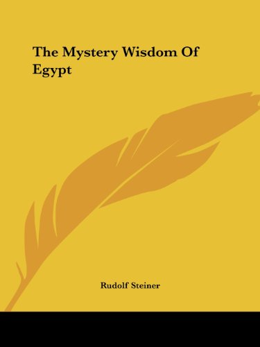 9781425348762: The Mystery Wisdom Of Egypt