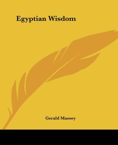 9781425350949: Egyptian Wisdom