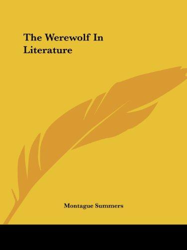 9781425362270: The Werewolf In Literature