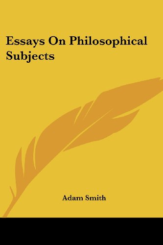 9781425472542: Essays On Philosophical Subjects