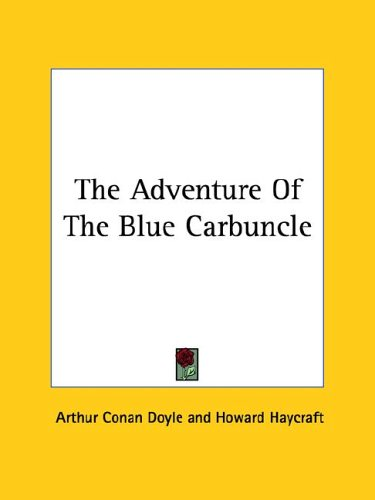9781425474157: The Adventure of the Blue Carbuncle