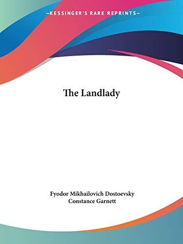 9781425477189: The Landlady