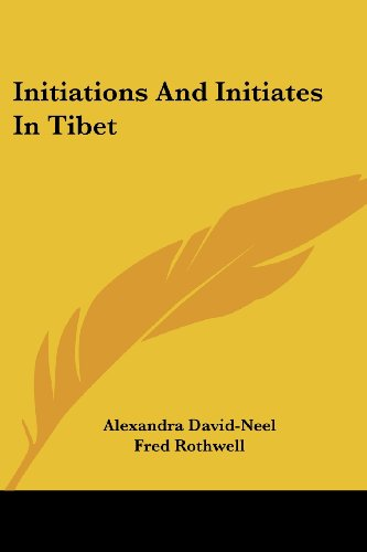 9781425483470: Initiations and Initiates in Tibet
