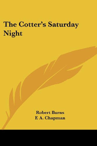 9781425496609: The Cotter's Saturday Night