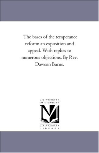 Michigan Historical Reprint Series: The bases of: Michigan Historical Reprint