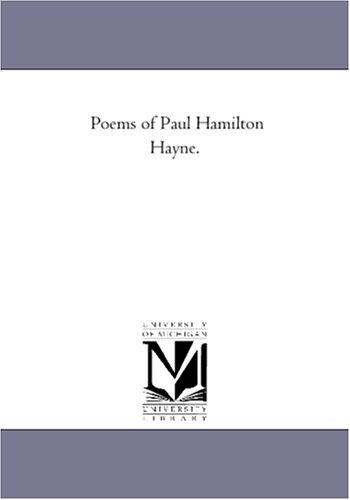 9781425551803: Poems of Paul Hamilton Hayne