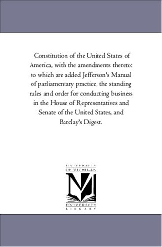 Constitution of the United States of America,: United States