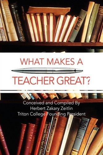 What Makes a Teacher Great?: Herbert Zakary Zeitlin