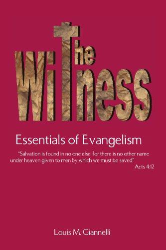 9781425725242: The Witness: Essentials of Evangelism