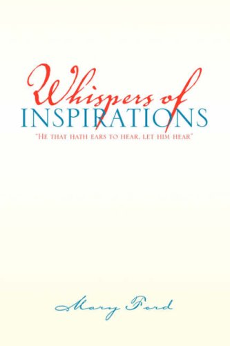 Whispers of Inspirations (1425733476) by Mary Ford