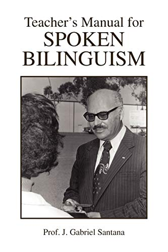 9781425760229: Teacher's Manual for Spoken Bilinguism