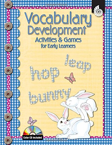9781425801434: Vocabulary Development Activities & Games for Early Leaners (Early Childhood Activities)