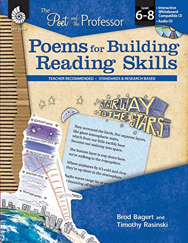 9781425802400: Poems for Building Reading Skills Levels 6-8 (The Poet and the Professor)