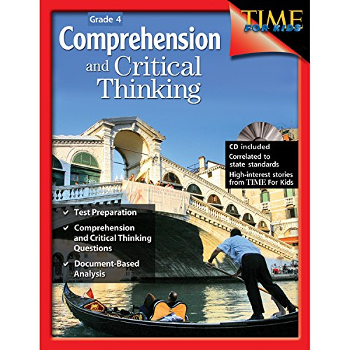 9781425802448: Comprehension and Critical Thinking Grade 4 (Comprehension & Critical Thinking)