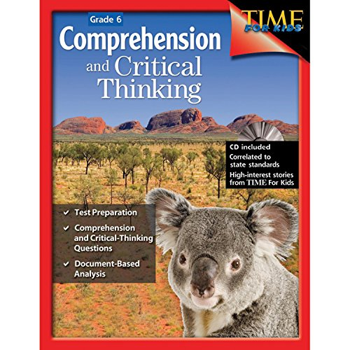 9781425802462: Comprehension and Critical Thinking Grade 6 (Comprehension & Critical Thinking)