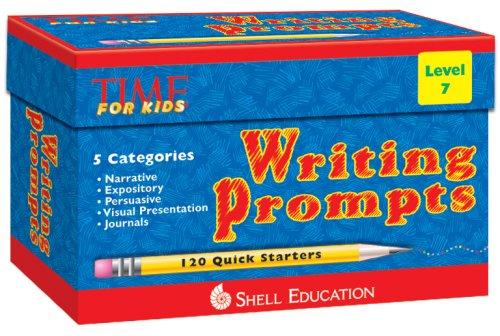 9781425802578: Writing Prompts Level 7 kit