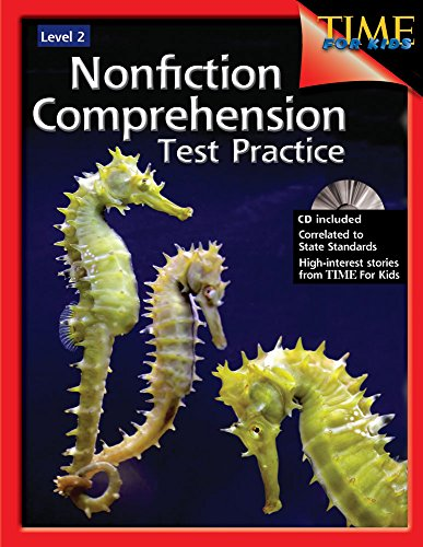 9781425804237: Nonfiction Comprehension Test Practice Level 2