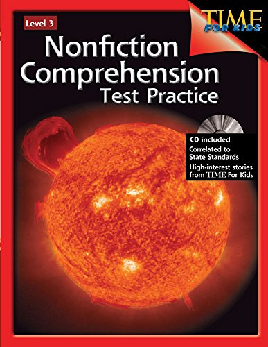 9781425804244: Nonfiction Comprehension Test Practice Level 3