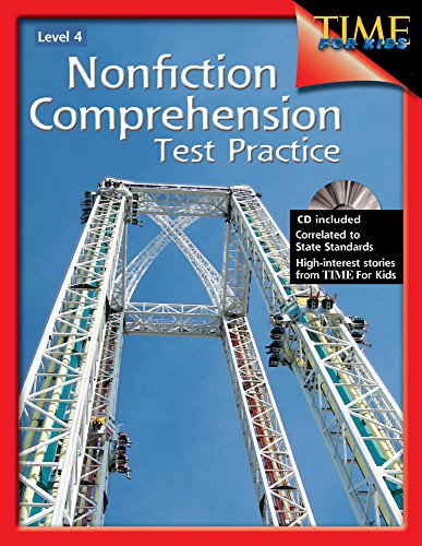9781425804251: Nonfiction Comprehension Test Practice Level 4