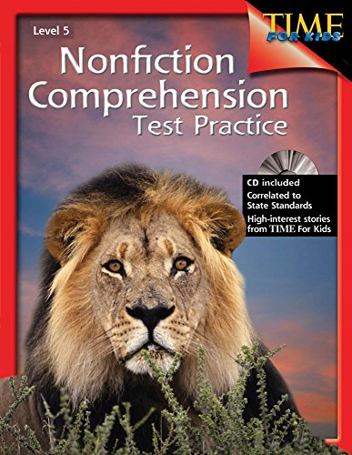 9781425804268: Nonfiction Comprehension Test Practice Level 5