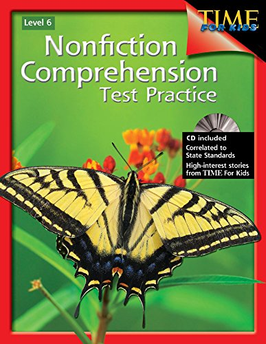 9781425804275: Nonfiction Comprehension Test Practice Level 6