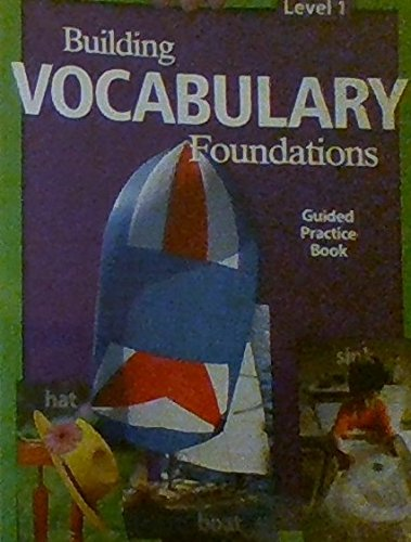 9781425805463: Building Vocabulary From Word Roots -Guided Practice Book Level 1 (2007-05-03)