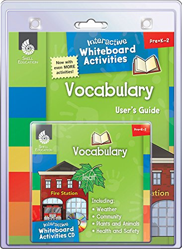 9781425806736: Interactive Whiteboard Activities: Vocabulary