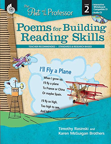 9781425806767: Poems for Building Reading Skills Level 2 (The Poet and the Professor)