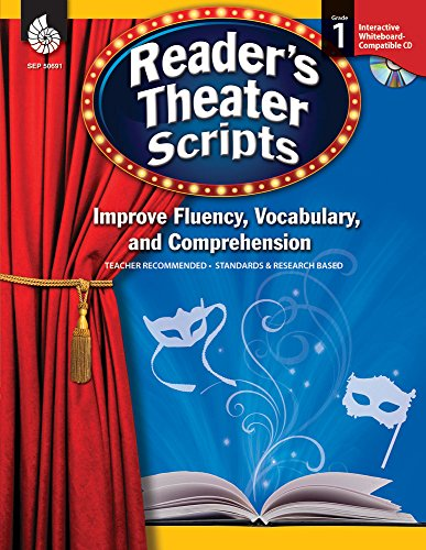 9781425806910: Reader's Theater Scripts: Improve Fluency, Vocabulary, and Comprehension: Grade 1