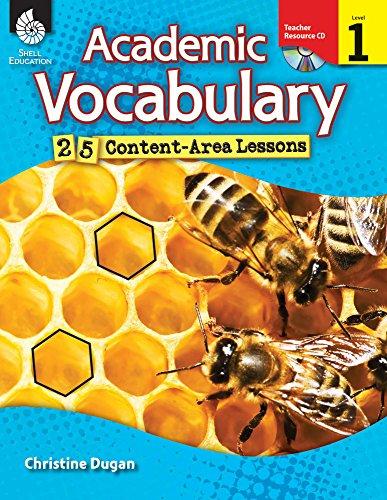9781425807030: Academic Vocabulary