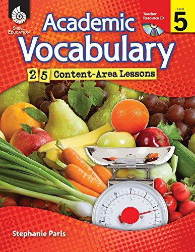 9781425807078: Academic Vocabulary