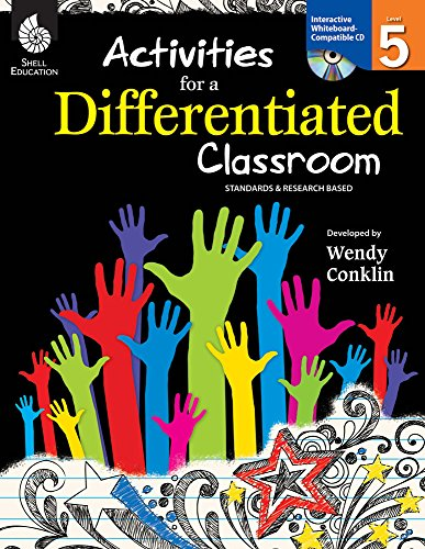 9781425807375: Activities for a Differentiated Classroom Level 5
