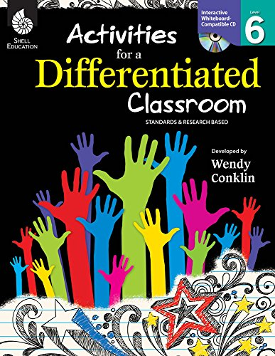 9781425807382: Activities for a Differentiated Classroom Level 6