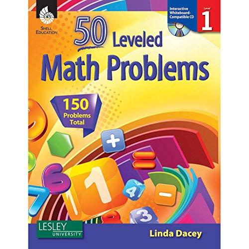 9781425807733: 50 Leveled Math Problems Level 1