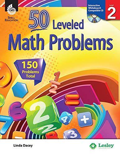 9781425807740: 50 Leveled Math Problems Level 2 (Level 2) (50 Leveled Problems for the Mathematics Classroom)