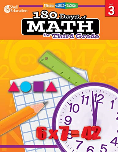 9781425808068: 180 Days of Math for Third Grade (180 Days of Practice)
