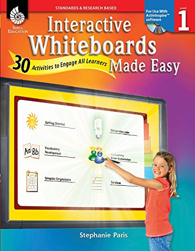 9781425808099: Interactive Whiteboards Made Easy (ActivInspire Software)