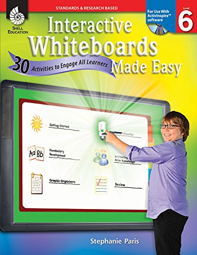 9781425808143: Interactive Whiteboards Made Easy (ActivInspire Software)
