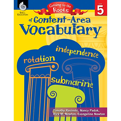 9781425808655: Getting to the Roots of Content-Area Vocabulary Level 5