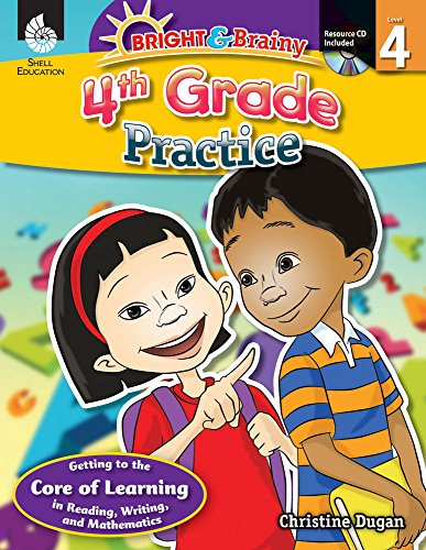 9781425809089: Bright & Brainy: 4th Grade Practice