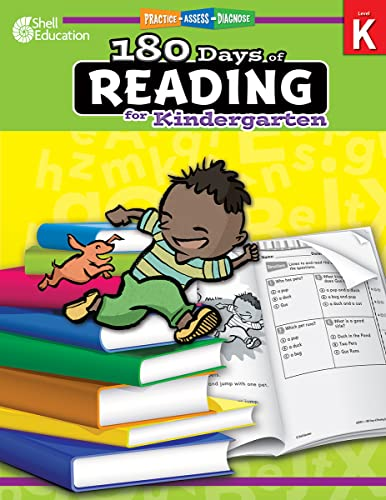 9781425809218: 180 Days of Reading for Kindergarten (180 Days of Practice)