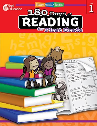9781425809225: 180 Days of Reading for First Grade (180 Days of Practice)