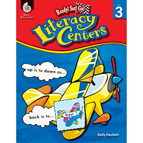 9781425810818: Literacy Centers Level 3 (Level 3): Ready! Set! Go!