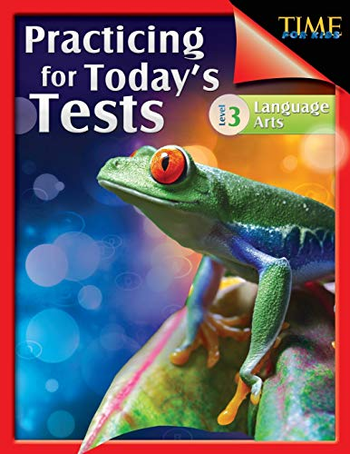 9781425814366: TIME For Kids: Practicing for Today's Tests Language Arts Level 3