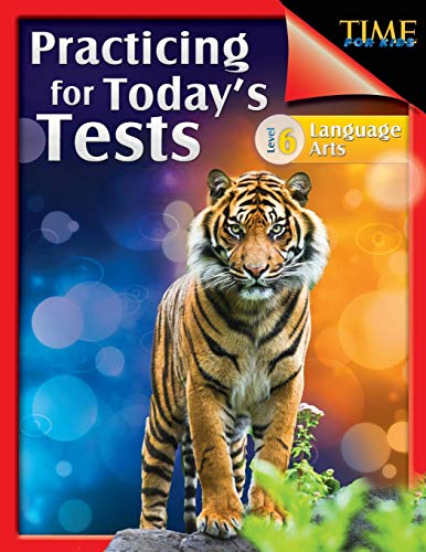 9781425814397: TIME For Kids: Practicing for Today's Tests Language Arts Level 6