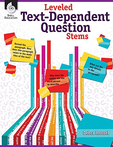 9781425814755: Leveled Text - Dependent Question Stems (Classroom Resources) for Grades K - 12